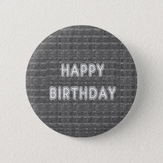 HAPPY Birthday HappyBirthday Artistist background 6 Cm Round Badge