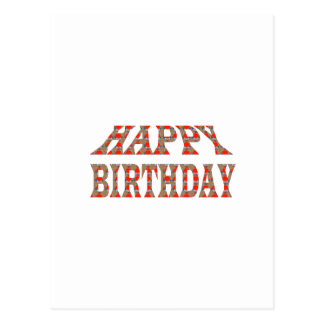 HAPPY BIRTHDAY HappyBIRTHDAY Colorful LOWPRICES Postcard