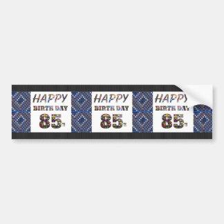 happy birthday happybirthday  designs bumper sticker