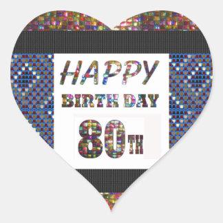 happy birthday happybirthday  designs heart sticker