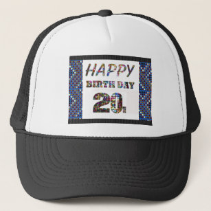 HAPPY BIRTHDAY HappyBirthday Tshirts Trucker Hat