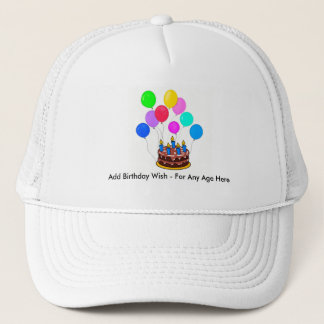 Happy Birthday Hat - Customize Yours Here!!