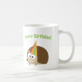Happy Birthday! Hedgehog Coffee Mug