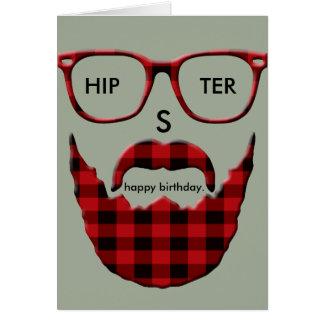 Happy Birthday HipSter Card