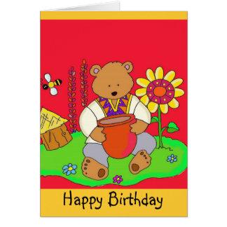 Happy Birthday Honey Bear! Greeting Card
