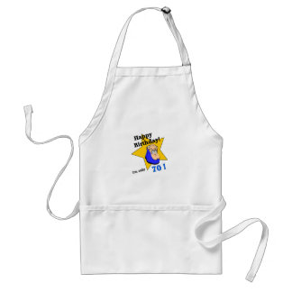 Happy Birthday  - I'm ONLY 70.png Apron