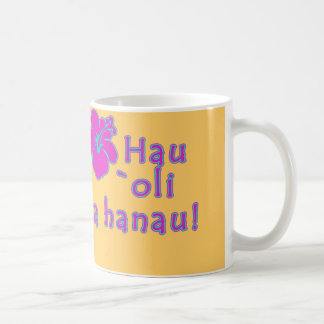 Happy Birthday In Hawaiian Coffee Mug