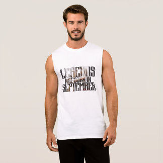Happy Birthday in September Sleeveless Shirt