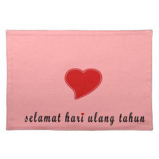 happy birthday indonesia place mats