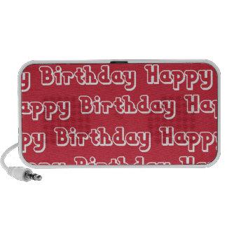 Happy Birthday ipad iPhone Speaker