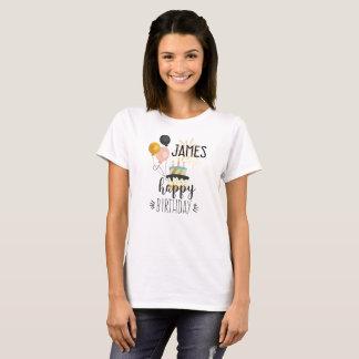 Happy birthday JAMES women T Shirt