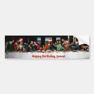 Happy Birthday, Jesus! Bumper Sticker