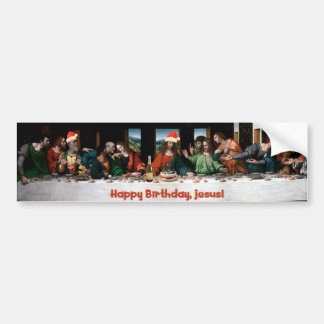 Happy Birthday, Jesus! Bumper Stickers
