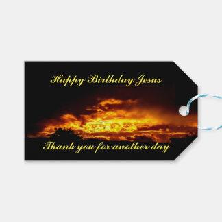 Happy Birthday Jesus Christ Gift Tags