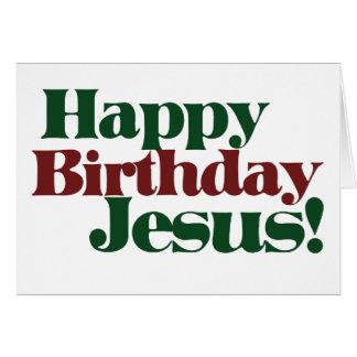 Happy Birthday Jesus it's Christmas Note Card