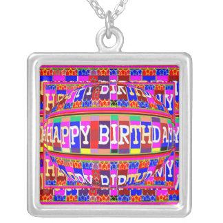 Happy Birthday Jewel Necklace