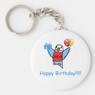 Happy Birthday! Key Ring