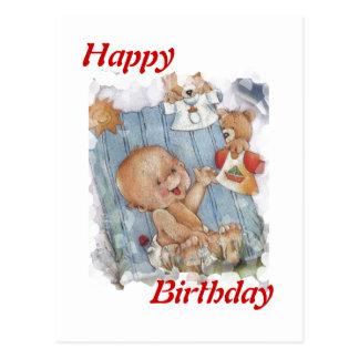 Happy birthday kid postcard