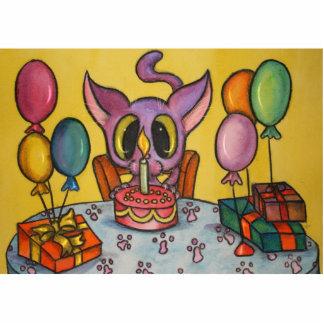Happy Birthday Kitty Photo Sculpture