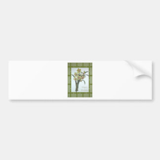 Happy Birthday - Lent Lily Bumper Sticker