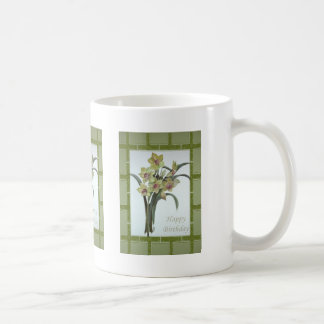 Happy Birthday - Lent Lily Coffee Mug