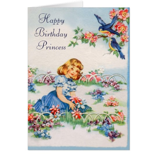 Happy Birthday - Little Princess Card