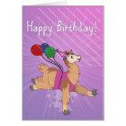 Happy Birthday Llama! Card