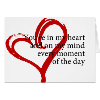 Happy Birthday Love Quote Greeting Card