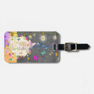 Happy Birthday - Luggage Tag