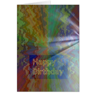 Happy Birthday March 2012 Collection Card