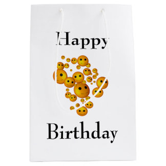 Happy Birthday Medium Gift Bag
