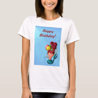 Happy Birthday Mermaid T-Shirt