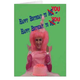 Happy Birthday Miz Cotton Card