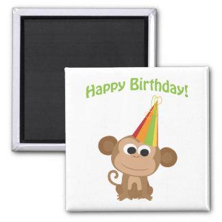 Happy Birthday! Monkey Magnet