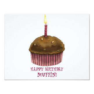 Happy Birthday Muffin Card