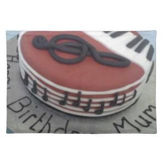 Happy birthday mum cake place mats