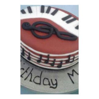 Happy birthday mum cake stationery