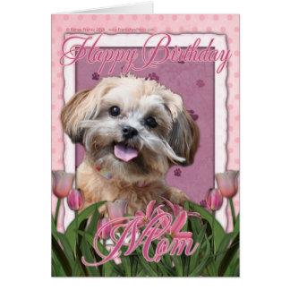 Happy Birthday Mum - ShihPoo - Maggie Card