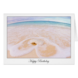 Happy Birthday Ocean Front Card