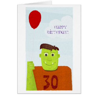 Happy Birthday Ogre (editable text) Card