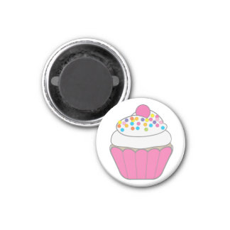 HAPPY BIRTHDAY OR JUST CELEBRATE! 3 CM ROUND MAGNET