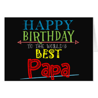 Happy Birthday Papa Card Grandfather Alternative