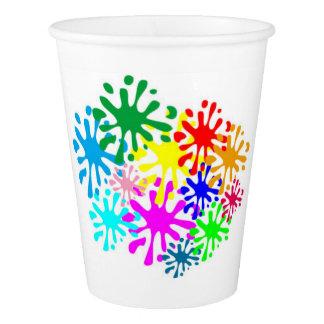 happy birthday paper cups