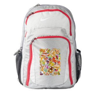 Happy Birthday Pattern Illustration Backpack