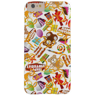 Happy Birthday Pattern Illustration Barely There iPhone 6 Plus Case