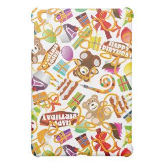 Happy Birthday Pattern Illustration iPad Mini Covers
