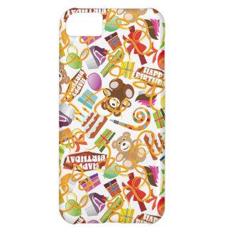 Happy Birthday Pattern Illustration iPhone 5C Case
