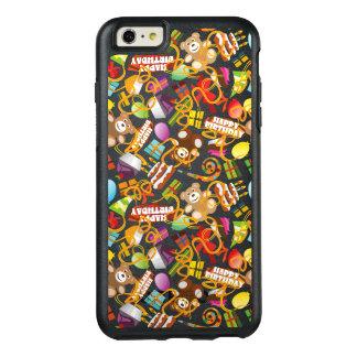 Happy Birthday Pattern Illustration OtterBox iPhone 6/6s Plus Case