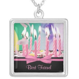 Happy Birthday Pendant Necklace - Best Friend