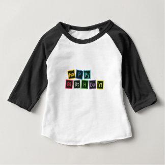 Happy Birthday Periodic Baby T-Shirt